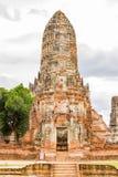 Wat Chaiwatthanaram Ayutthaya Thailand Arkivbild