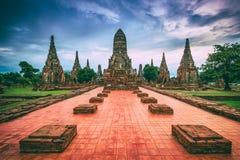 Wat Chaiwatthanaram Stock Images