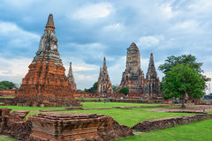 Wat Chaiwatthanaram - Ayutthaya, Thailand Royalty Free Stock Photos