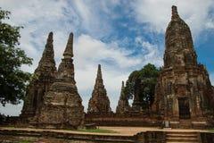 Wat Chaiwatthanaram in Ayutthaya, Thailand Stock Photos