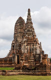 Wat Chaiwatthanaram is a Buddhist temple in the city of Ayutthay. Chaiwatthanaram Temple in ayutthaya province Thailand stock photography