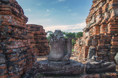Wat Chaiwatthanaram,. The Buddhist temple in the city of Ayutthaya Historical Park, Thailand Royalty Free Stock Photography
