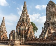Free Wat Chaiwatthanaram Buddhist Temple In The City Of Ayutthaya Historical Park, Thailand, And A UNESCO World Heritage Site. Stock Photography - 110268572