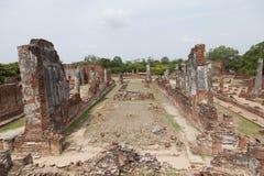 Wat Chaiwatthanaram do templo velho de Ayuthaya Imagem de Stock
