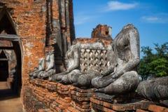 Wat Chaiwatthanaram, el templo budista en la ciudad de Ayutthay fotos de archivo libres de regalías