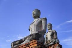 Wat Chaiwatthanaram, el templo budista en la ciudad de Ayutthay imagen de archivo libre de regalías