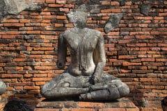 Wat Chaiwatthanaram, el templo budista en la ciudad de Ayutthay imágenes de archivo libres de regalías