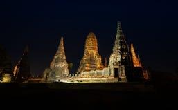 Wat Chaiwatthanaram en Ayutthya Fotos de archivo libres de regalías