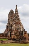 Wat Chaiwatthanaram ist ein buddhistischer Tempel in der Stadt von Ayutthay Stockfotografie