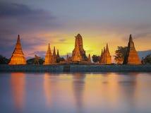 Wat Chaiwatthanaram Stock Photos