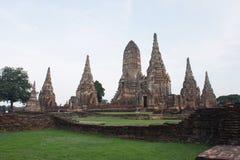 Wat Chaiwatthanaram. Chaiwatthanaram is one of the most spectacular strikes in Ayutthaya Stock Photo