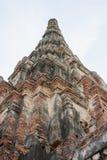 Wat Chaiwatthanaram. Chaiwatthanaram is one of the most spectacular strikes in Ayutthaya Stock Image