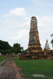 Wat Chaiwatthanaram. Chaiwatthanaram is one of the most spectacular strikes in Ayutthaya Stock Images