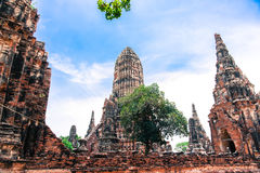 Wat Chaiwatthanaram Temple Stockfoto