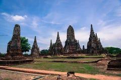 Wat Chaiwatthanaram Temple Lizenzfreie Stockfotografie