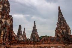 Wat Chaiwatthanaram temple Stock Photo