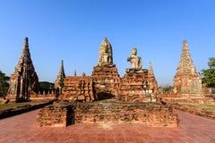Wat Chaiwatthanaram temple, Ayuthaya, Thailand stock photography