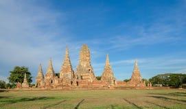 Wat Chaiwatthanaram Temple of Ayutthaya Province, Thailand Royalty Free Stock Images