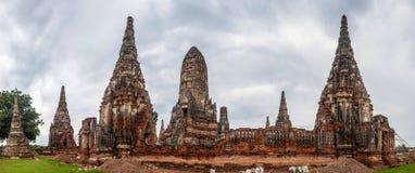 Wat Chaiwatthanaram temple Stock Images