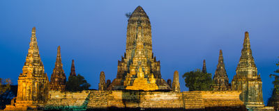 Wat Chaiwatthanaram Temple at Ayutthaya, Thailand Stock Photography