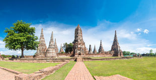 Wat Chaiwatthanaram temple in Ayutthya. Wat Chaiwatthanaram temple in Ayutthaya, Thailand Royalty Free Stock Photo