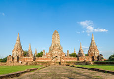 Wat Chaiwatthanaram in Thailand Royalty Free Stock Photography
