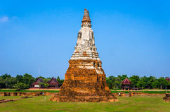 Wat chaiwatthanaram Royalty Free Stock Photo