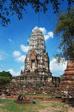 Wat Chaiwatthanaran imagem de stock royalty free