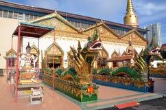 Wat Chaiya Mangalaram in Georgetown Royalty Free Stock Photography