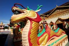 Wat Chaiya Mangkalaram Royalty-vrije Stock Afbeeldingen