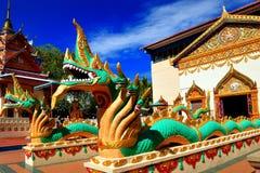 Wat Chaiya Mangkalaram Foto de archivo libre de regalías