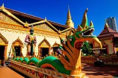 Wat Chaiya Mangkalaram Immagine Stock