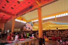 Wat Chaiya Mangkalaram Royalty-vrije Stock Afbeelding