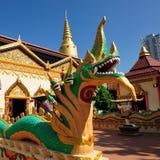 Wat Chaiya Mangkalaram Imagem de Stock Royalty Free