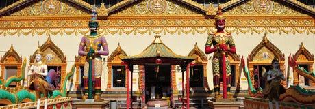 Wat Chaiya Mangkalaram Stock Afbeeldingen