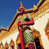 Wat Chaiya Mangkalaram Stock Afbeelding