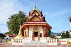 Wat Chaiya Mangkalaram, landmark Thai temple in Penang Royalty Free Stock Photo