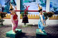 Wat Chaiyamangalaram Thai Buddhist Temple, Penang Malasia Foto de archivo