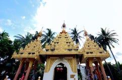 Wat Chaiyamangalaram Thai Buddhist Temple, Penang Malasia imagenes de archivo