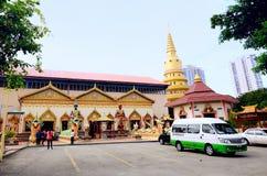 Wat Chaiyamangalaram Thai Buddhist Temple,Penang Malaysia Stock Photo
