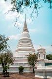 Wat Chalerm Phrakait塔 泰国 免版税库存照片