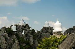 Wat Chalermprakiat at Lampang province,Thailand Royalty Free Stock Photo