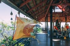 Wat Chaloemphrakiat en Tailandia Templo hermoso sin los turistas Gema ocultada en Tailandia fotos de archivo