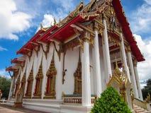 Wat Chalong寺庙普吉岛 库存照片