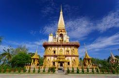 Wat Chalong świątynny Phuket, Tajlandia obraz stock