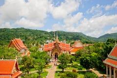 Wat Chalong royalty-vrije stock foto