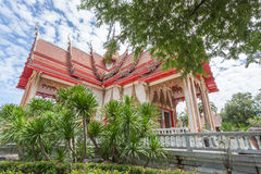 The Wat Chalong Buddhist temple in Chalong, Phuket, Thailand Royalty Free Stock Photos