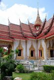Wat Chalong Chaithararam Phuket Biggest-Tempel lizenzfreie stockfotografie