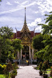 Wat Chalong de Phuket Photographie stock