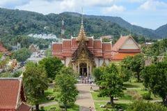 Wat Chalong Editorial Stock Foto